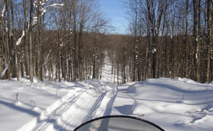 Awesome Michigan Snowmobile Trails